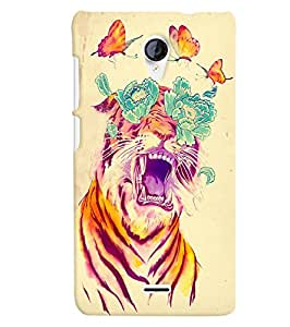 Citydreamz Back Cover For Micromax Canvas Spark Q380|