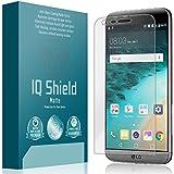 LG G5 Screen Protector Anti-Glare [Full Coverage], IQ Shield® Matte - Lifetime Warranty Replacements - Premium Bubble-Free HD Film with Anti-Fingerprint Coating