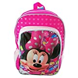 Disney Minnie Mouse 16 Large Backpack School Book Bag