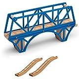 Sodor Bay Bridge - Thomas Wooden Railway Tank Train Engine - Brand New Loose