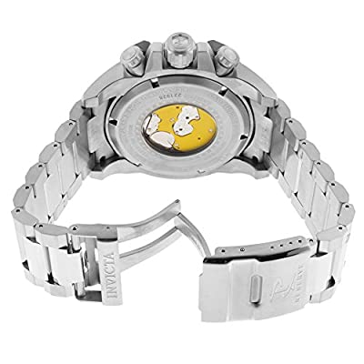 Invicta Men's 15823 Reserve Analog Display Swiss Quartz Silver Watch