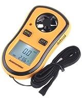 dodocool Digital poche Anémomètre thermomètre numérique portable appareil vitesse du vent thermomètre