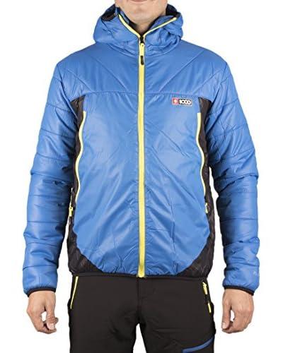 +8000 Jacke Tibet blau