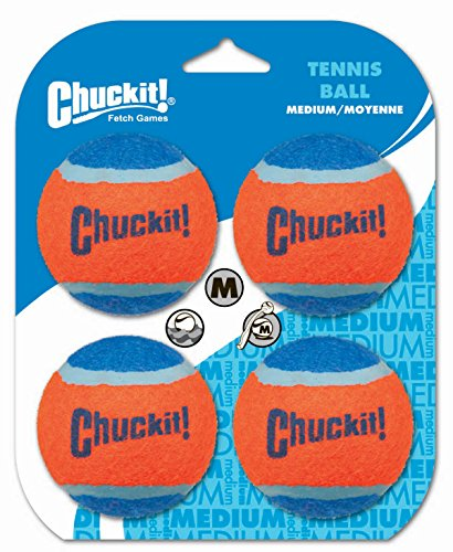 Artikelbild: Chuckit Tennis Ball Medium - 4 Stücke