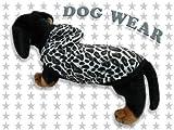◆愛犬服/ドッグウェア◆豹柄 フード付き★犬服/ペット服/小型犬/中型犬/Tシャツ/タンクトップ/パーカー
