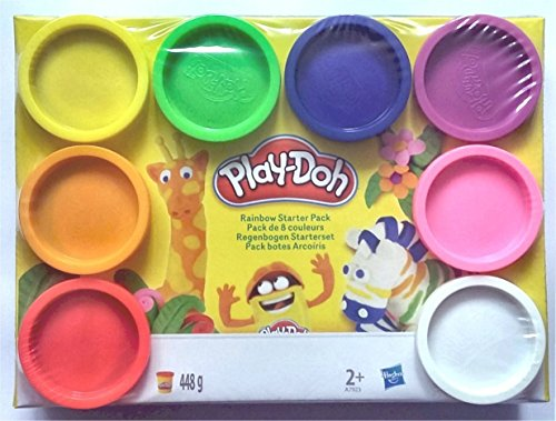 play-doh-toy-playset-rainbow-starter-pack-contains-8x-448-gram-compound-tub-variety-colours