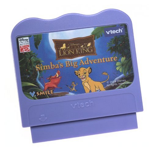 V Tech - V.Smile - The Lion King Simba'S Big Adventure front-1072994