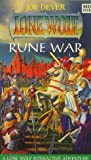 Rune War (Lone Wolf - New Order Series) (0099253011) by Joe Dever