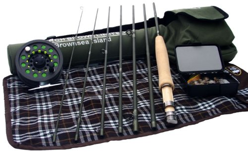 Brownsea Island Spin/ Fly Combination Package, 7'6