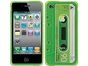 Amazon.com: Green Casette Clear TPU Soft Rubber Gel Skin Case Cover