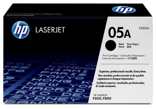 HP CE505A Laserjet 05A Cartridge - Retail Packaging - Black