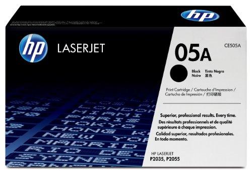 To see HP CE505A Laserjet 05A Cartridge – Retail Packaging – Black Reviews  hp laserjet p2035