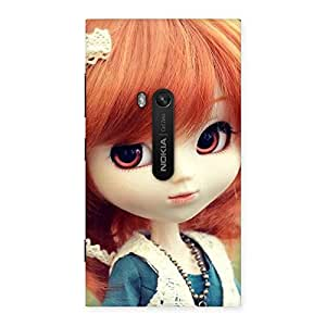 Cute Tiny Baby Girl Multicolor Back Case Cover for Lumia 920