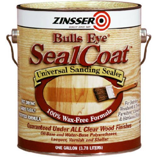 Rust-Oleum Zinsser 854 1-Quart Bulls Eye Sealcoat Universal Sanding Sealer (Wood Sanding Sealer compare prices)