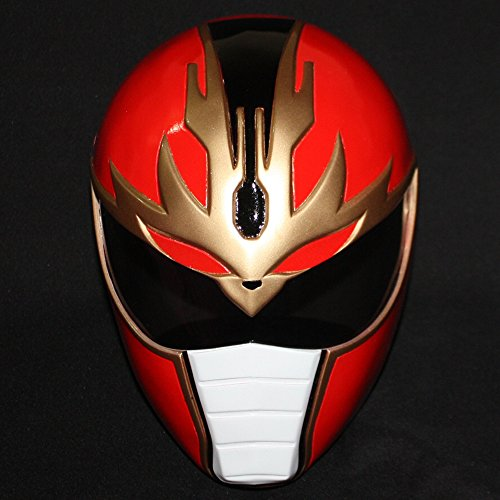 1:1 Halloween Costume Cosplay Power Ranger Helmet Mask Red Dairanger PR05