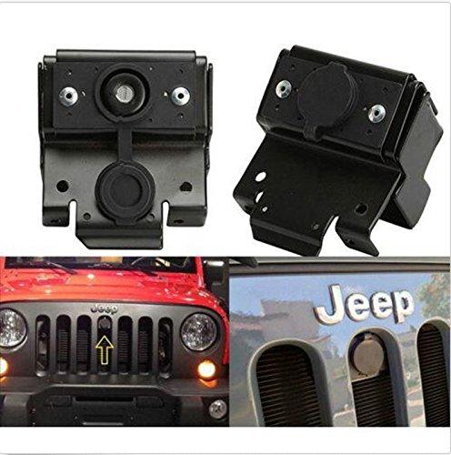 FUWAY Jeep Wrangler JK Rubicon Metall Anti-Diebstahl-Motorhaube Verriegelungslasche 2007-2015
