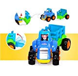 D-Mcark-Early-Educational-Toddler-Baby-Toy-Push-and-Go-Friction-Powered-Car-Toys-Sets-of-4-Tractor-Bulldozer-Mixer-Truck-and-Dumper-for-Children-Kids-Boys-and-Girls-1-Year-Old-to-3-Year-Old