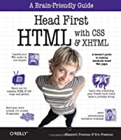 Head First HTML with CSS & XHTML Front Cover