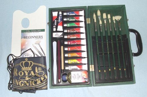 Royal & Langnickel Regis Oil Color Painting Box Set
