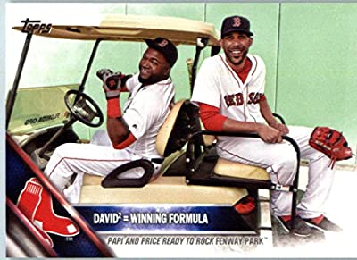 2016 Topps Series 2 #382 David2 = Winning Formula Boston Red Sox Baseball Card