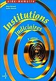 echange, troc Heraud, Maurin - Institutions judiciaires