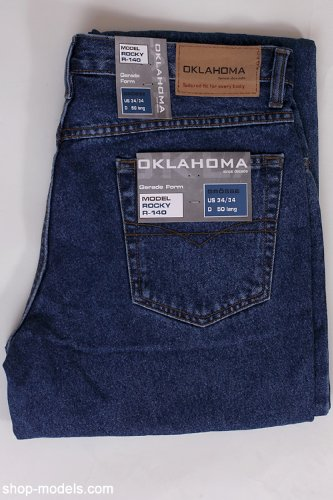 OKLAHOMA-Jeans R140 stone ROCKY