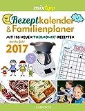 Rezeptkalender & Familienplaner 2017