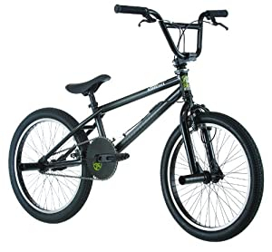 Diamondback Joker BMX Bike, Black, 20-Inch Wheels