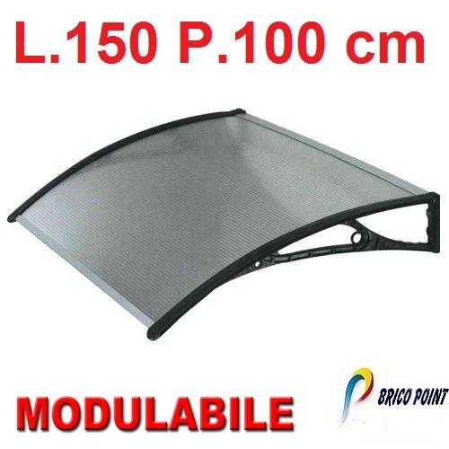 Pensilina tettoia in kit lamina in policarbonato for Pensiline in policarbonato amazon
