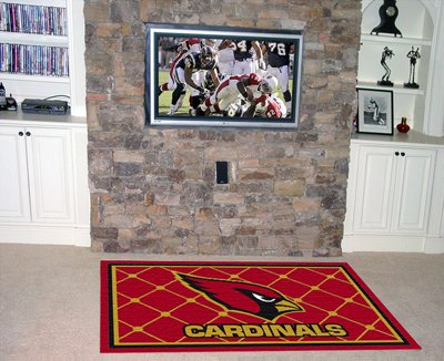 Cardinals 5' x 8' Area Rugs