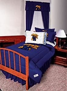 Kentucky Wildcats Queen Bedskirt by Sports Coverage