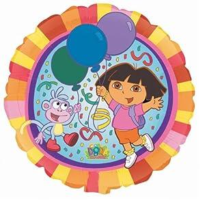 Amazon.com: DORA THE EXPLORER BOOTS MYLAR 18 INCH BIRTHDAY PARTY