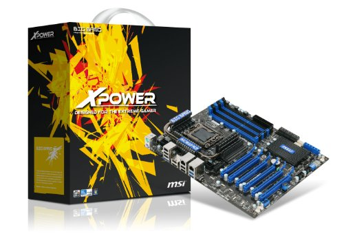 MSI Core i7/ Intel X58/ CrossFireX, 3-way SLI/ SATA3 and USB3.0 ATX Motherboard (Big Bang-Xpower)
