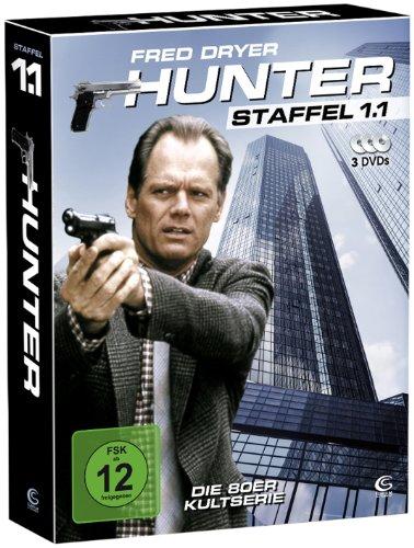 Hunter - Gnadenlose Jagd (Staffel 1.1 auf 3 DVDs im Digipack mit Schuber plus Episodenguide)