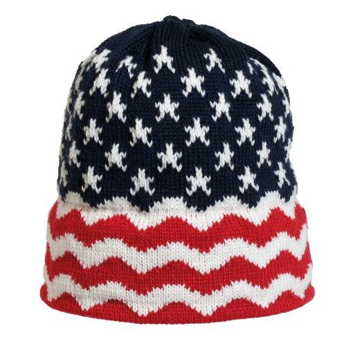 255acf8682825 Vermont Originals Stars and Stripes Ski Hat