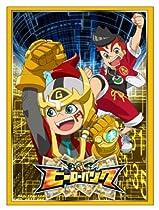 ヒーローバンクバトルカード オフィシャルスリーブ Vol.1 エンター・ザ・ゴールド