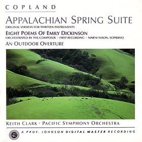 Copland: Appalachian Spring, etc.