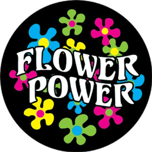 Licenses Products Flower Power Magnet - 1