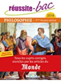 Philosophie Tles toutes séries : Tous les sujets corrigé, enrichis par les articles du Monde
