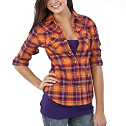 Mossimo Plaid fitted shirt