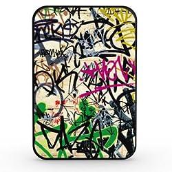 Artis 5000mah Slim Power Bank - Graffitti