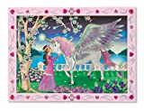 Melissa and Doug Peel and Press Sticker By Number Mystical Unicorn