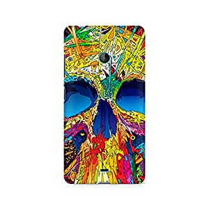 Ebby Abstract Skull Art Premium Printed Case For Nokia Lumia 540