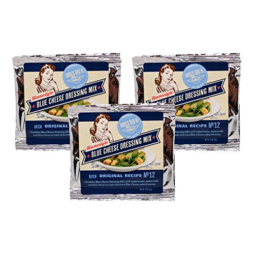 Hires Big H - Blue Cheese Dressing Mix - 3 Pack (No Salt Cheese compare prices)