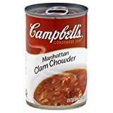 Campbell's Soup Manhattan Clam Chowder 10.75 OZ - Pack of 6