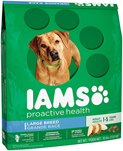 IAMS PROACTIVE HEALTH Large Breed Adult Dry Dog Food 30 Pounds_Image1
