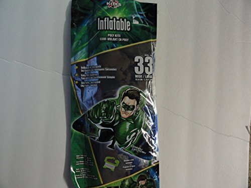 "Inflatable Green Lantern 33"" Poly Kite"