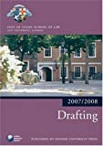 Drafting 2007-2008: 2007 Edition |a 2007 ed. (Blackstone Bar Manual)