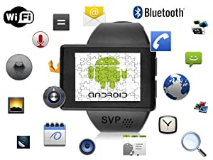 SVP Android 2.2 Smartwatch Review