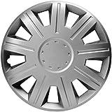 Sakura VICTORY 14-inch Silver Wheel Trims